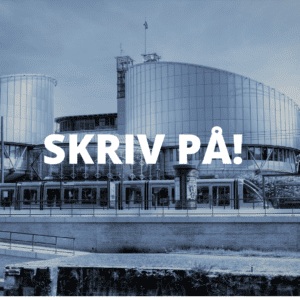 Namninsamling för STOPP PÅ PARTISKHET i Europadomstolen