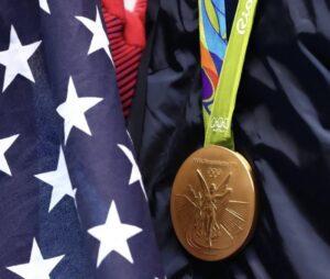 OS-medaljernas baksida